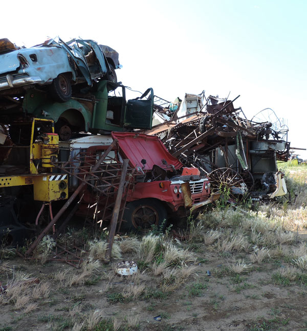 Silver Star Salvage Yard Cleanup