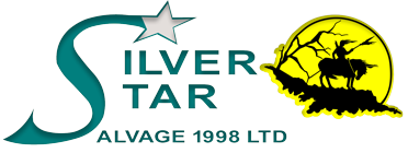 Silver Star Salvage Sticky Logo