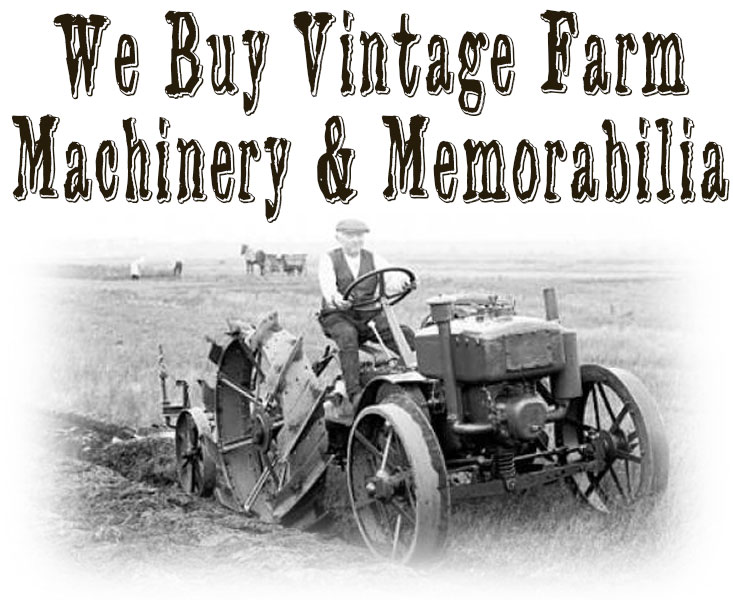 Silver Star Salvage buys vintage farm equipment